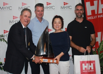 Prize-giving concludes the 2020 Regatta
