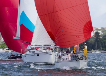 Sydney Harbour Regatta day 1 smiles & spills